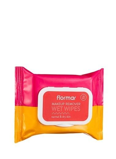 Flormar Flormar Wet Wipes Normal ve Kuru Ciltler için Temizleme Mendili  001 Renksiz